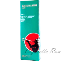 American Spirit Menthol Full Bodied Dark Green Box
