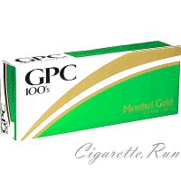 GPC Menthol Gold 100's Soft Pack