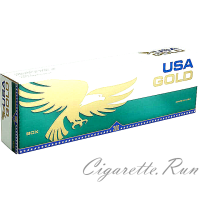 USA Gold Menthol Dark Green Box
