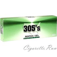 305's Menthol 100's Box