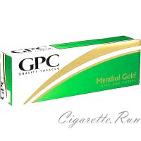 GPC Menthol Gold Soft Pack