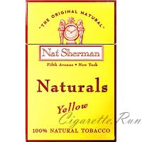 Nat Sherman Naturals Yellow Box