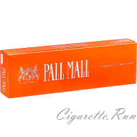 Pall Mall Orange Filter Kings Box