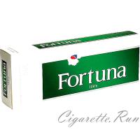 Fortuna Menthol Dark Green 100's Box