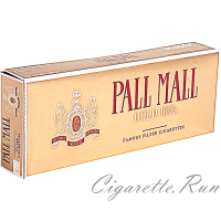 Pall Mall Gold 100's Box