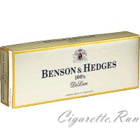 Benson & Hedges 100's DeLuxe Box