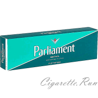 Parliament Menthol Green Pack Box