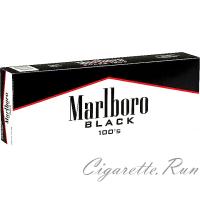 Marlboro Black 100's Box