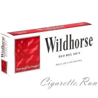Wildhorse Red 100's Box
