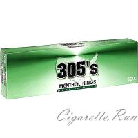 305's Menthol Kings Box